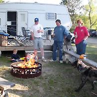 lake winnie campfire