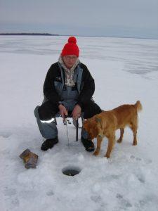 Fishing On Lake Winnie